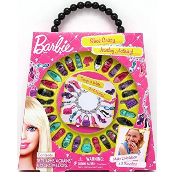 Barbie Other - BARBIE Jewelry Making Kit Bracelets Necklaces
